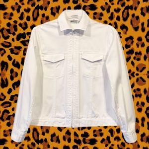 Hot Summer Jacket, Cool Crisp White